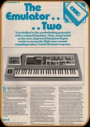Electronic Sound Maker January 1985