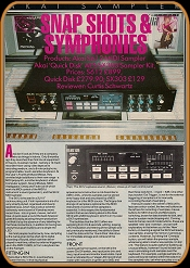 Electronic Sound Maker June 1985