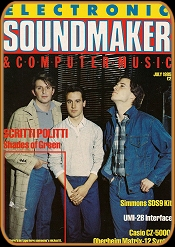 Electronic Sound Maker July 1985