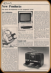 Electronic Sound Maker November 1983