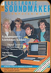 Electronic Sound Maker January 1984