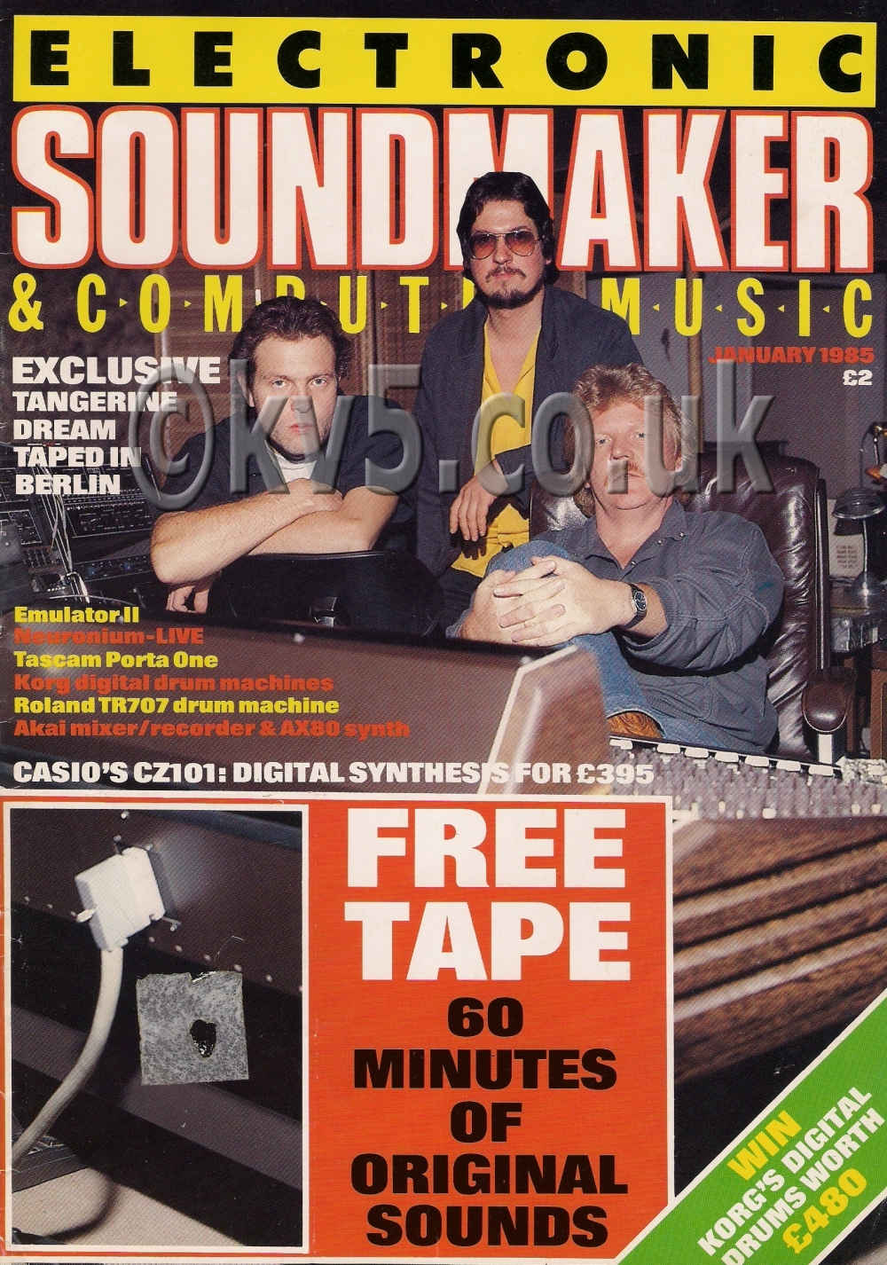 Electronic Soundmaker January 1985