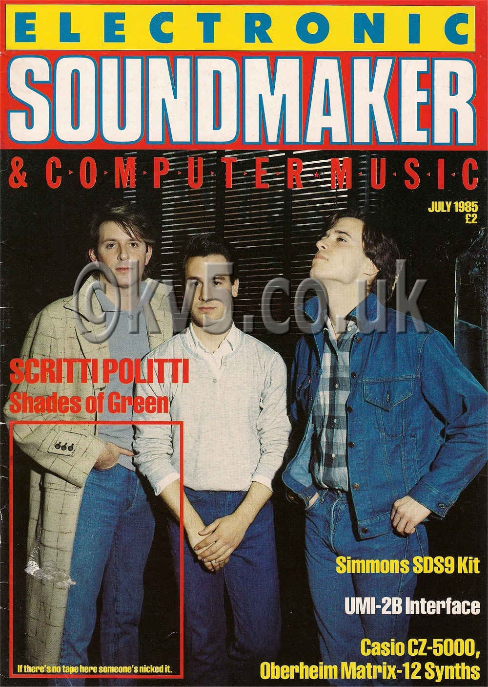 Electronic Soundmaker July 1985