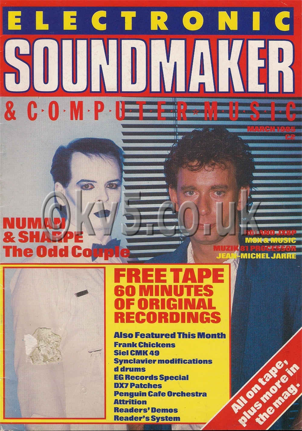 Electronic Sound Maker March 1985