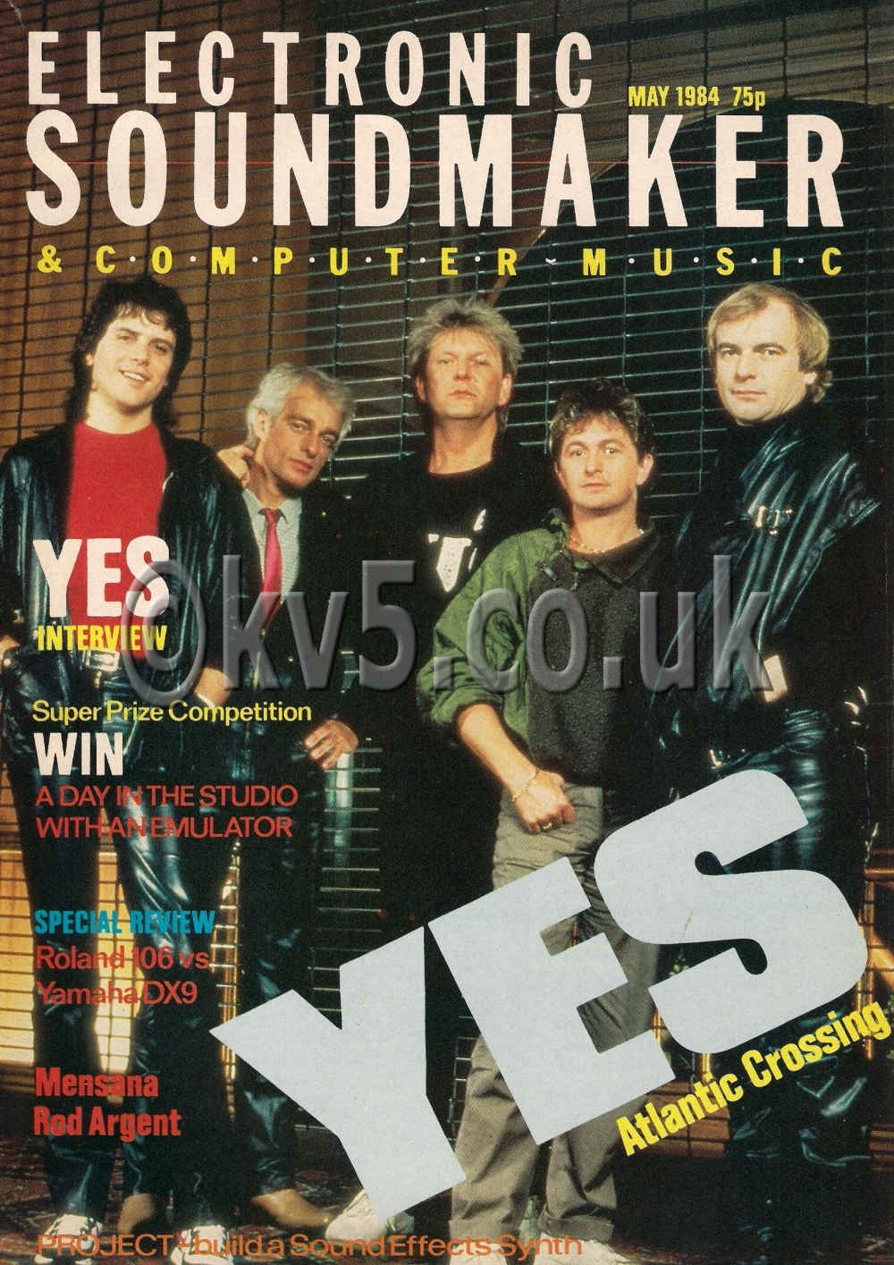 Electronic Soundmaker May 1984