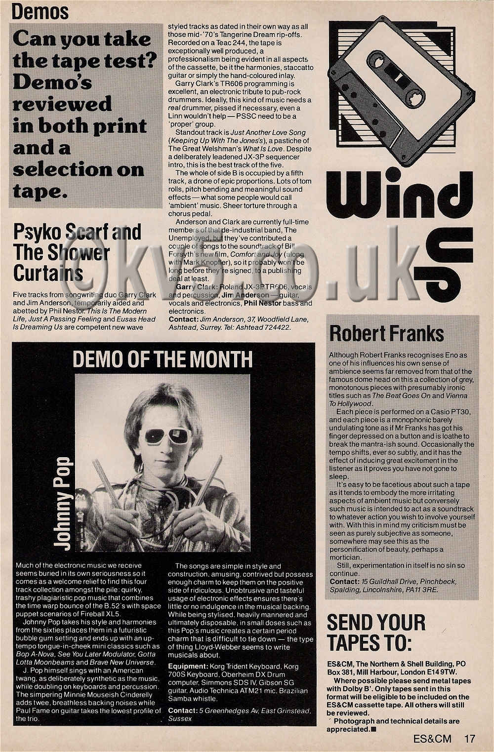 Readers Demo - Wind Up